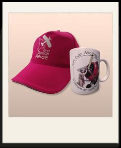 Polaroid mug et casquette St-Dizier Aéro Rétro