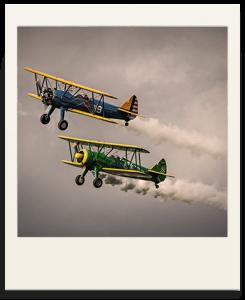 Polaroid biplans