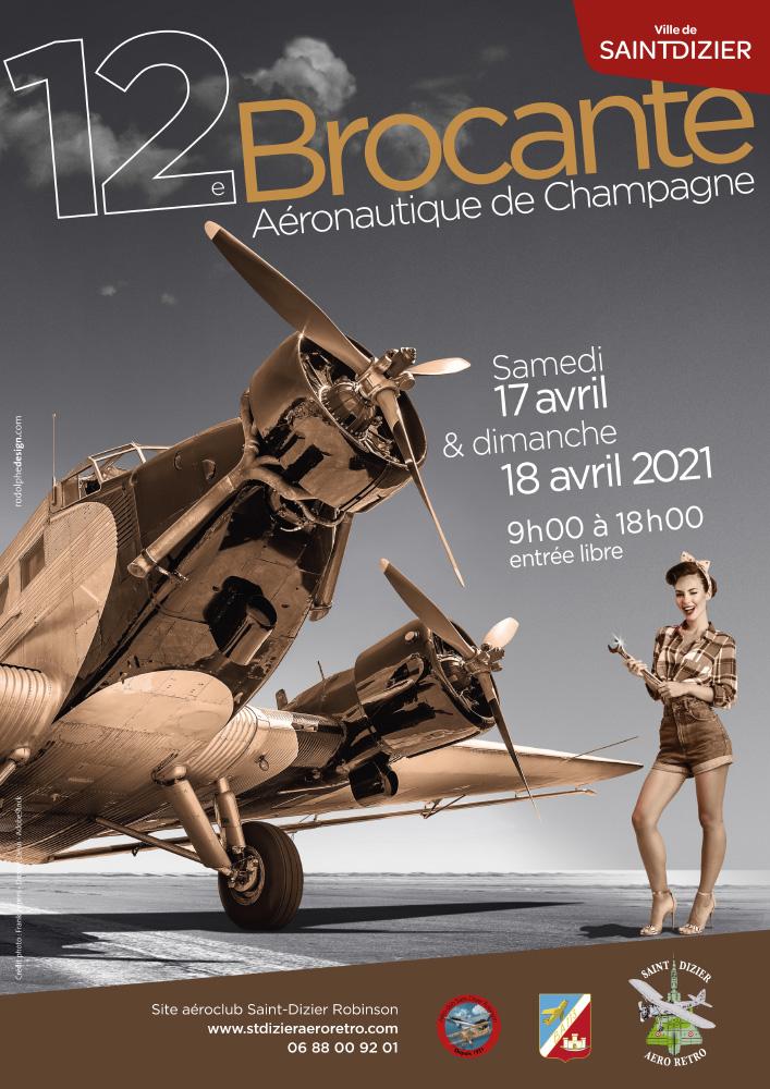 Brocante aéronautique de Champagne 2021